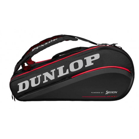 Dunlop Raquetero Thermo CX Perfomance 9 Negro Rojo