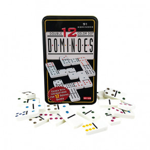 Juego de Domino Plus Multicolor