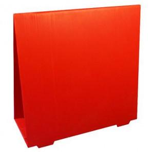 Valla PLEGABLE 40 cm cartón