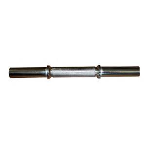 Barra Mancuerna con Fijaciones Muelle Largo 45 cm
