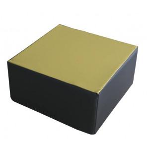 Figura Cuadrado 30X60X60 cm Amarillo/Gris