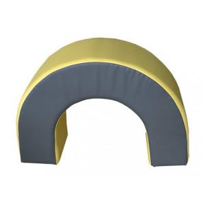 Figura ARCO 80X60X30 cm - 80X60X30 cm Amarillo/Gris