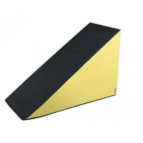 Figura Triangulo 120X80X60 cm - Amarillo/Gris 120X80X60 cm