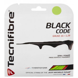 Set Cordaje de Tenis Tecnifibre BLACK CODE