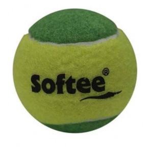 Bolsa 3 Pelotas de Tenis Softee Iniciacion Verde