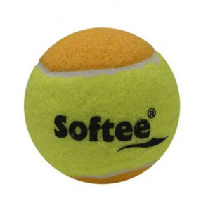 Bolsa 3 Pelotas de Tenis Softee Minitenis Naranja