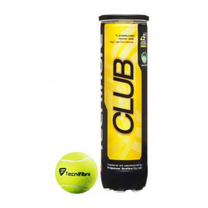 Pelotas Tenis Tecnifibre CLUB x4