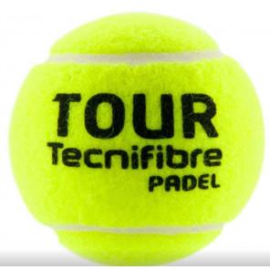Tecnifibre Pelotas de Pádel PADEL TOUR x3