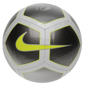 Balón Futol Nike Pitch Premier League Negro Gris