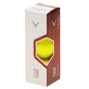 Bola de Golf Callaway CXR Power Amarillo 12 Pack
