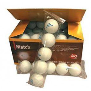 Pelotas Tenis Mesa Enebe SPORT 40 mm Blanco Caja 60 bolas