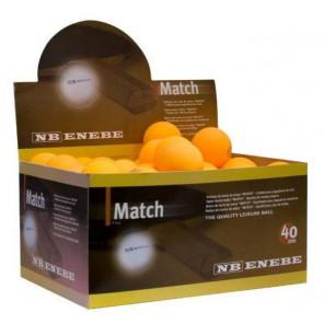 Pelotas Tenis Mesa Enebe MATCH 40 mm Caja 60