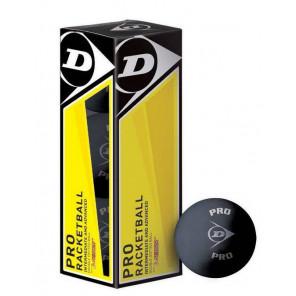 Pelotas Racketball Dunlop PRO 1x3