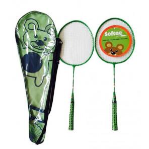 1494 Juego Raquetas Badminton JUNIOR