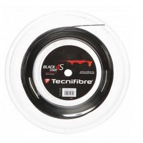Tecnifibre Cordaje Tenis BLACK CODE 4S 200 m