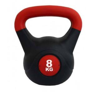 KETTLEBELL PVC Rojo/Negro