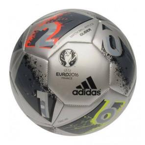 Balón adidas Fútbol UEFA EURO 2016 Top Glider Replica Fútbol Gris