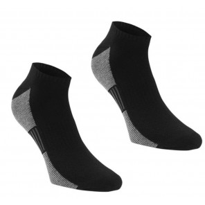 Calcetines Dunlop Perfomance Trainer 2 Pares Talla 36 Negro