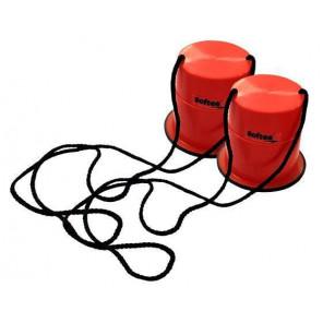 Zancos Alzas de plastico Antideslizante Rojo 12cm