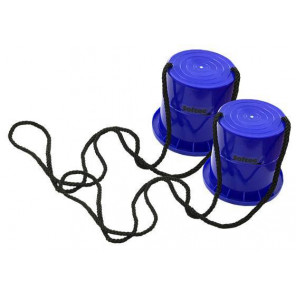 Zancos Alzas de plastico Azul 12cm