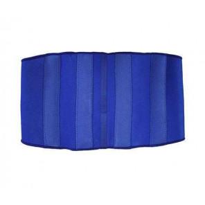 Softee Faja Lumbar Neopreno con Protecciones Azul