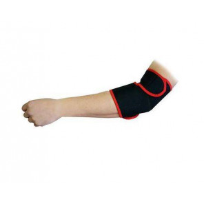 Softee Proteccion Codera Neopreno Negro Rojo