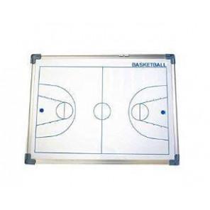 Pizarra Magnética Borde Aluminio Baloncesto Blanco 60x90 cm