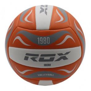Balón Vóley Rox R-IBERO - Naranja/Blanco Vóley