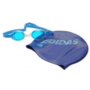 Gafas y Gorro adidas Natación Junior