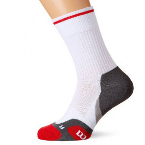 Calcetines Wilson Tenis Ergo Step Blanco