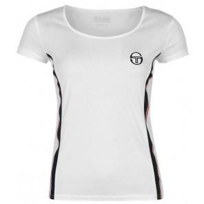 Sergio Tacchini Camiseta Tennis T Shirt Mujer