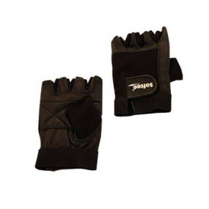 Guantes Fitness AND TREND PIEL Negro XL