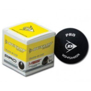 Bolas Squash Dunlop PRO (Doble punto Amarillo) x12