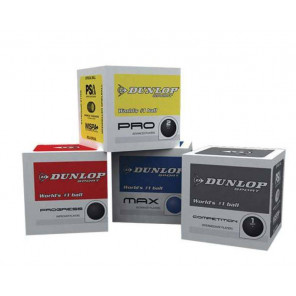 AND TREND Dunlop Bola Squash MIX x4