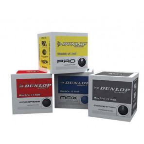Bola Squash Dunlop MIX x4