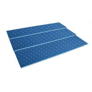 Tapiz 200X50X3 cm Azul/Blanco/Azul