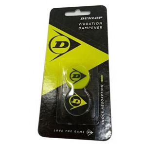 Anti vibrador Dunlop Blister 2 unidades Negro Amarillo