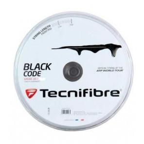 Tecnifibre Cordaje Tenis BLACK CODE 200m