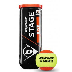 Pelotas Tenis Dunlop STAGE 2 ORANGE Caja 24x3