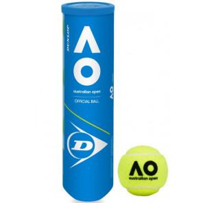 Dunlop AUSTRALIAN OPEN Pelotas Tenis 4 bolas
