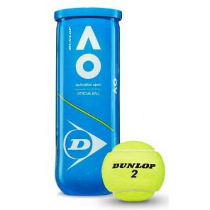 Dunlop AUSTRALIAN OPEN Pelotas Tenis 3 bolas