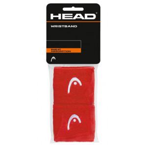 Muñequeras deportivas Tenis Head Estandar x2 Rojo