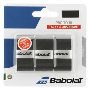 Sobregrip Babolat PRO TOUR x3 Negro