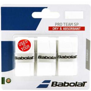 Babolat Sobregrip PRO TEAM SP Blanco 1x3