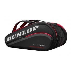 Raquetero Thermo Dunlop CX Perfomance 15 Negro Rojo