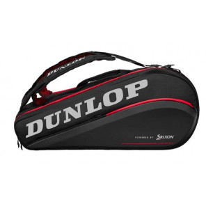 Raquetero Thermo Dunlop CX Perfomance 9 Negro Rojo