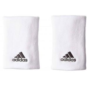 Muñequeras adidas TENNIS WB Large Blanco (2u)
