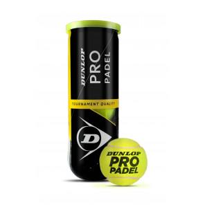 Dunlop Pelotas Pádel PRO PADEL x3