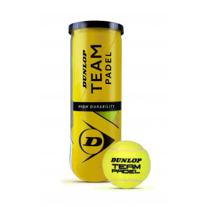 Dunlop Pelotas Pádel TEAM PADEL x3