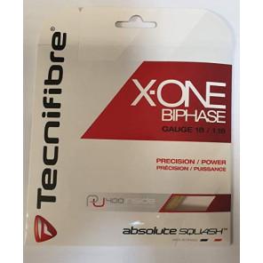 Cordaje Squash Tecnifibre X-ONE BIPHASE Set 12 m